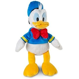 Disney Donald Duck Stuffed Plush Doll Ultra Soft Medium 13 inches Tall