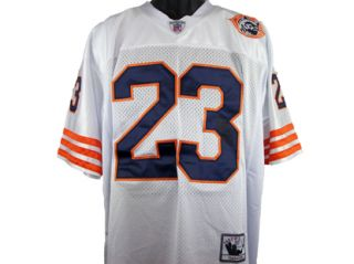 Devin Hester Autographed Chicago Bears White Mitchell & Ness