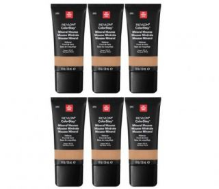 Revlon COLORSTAY MINERAL MOUSSE #090 DEEPER Foundation Makeup Bulk Lot
