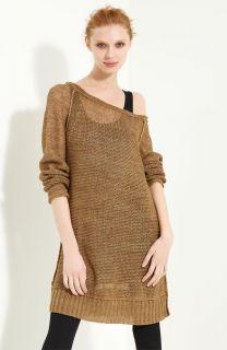 700 Donna Karan Collection Long Linen Sweater Size M Medium