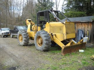 1977 International S8A Log Skidder