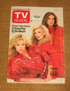 Guide Donna Mills Morgan Fairchild July 11 17 1981 Central Pa