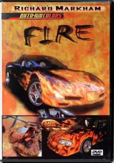 Fire DVD by Richard Markham Auto Air Airbrush Paint