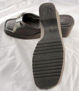 Donald J Pliner Spain Beautiful Brown Sandals Wedges Platforms Slides