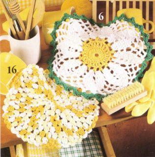 Crochet 101 Photo Tutorial & Crocheted Dishcloth Pattern