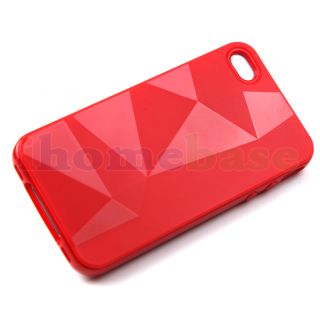Cool Diamond Design Pattern Case Cover Skin for iPhone 4GS 4S 4G 4 9