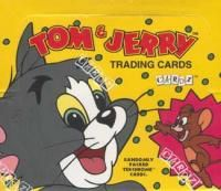 Tom Jerry Cartoon Trading Card Box