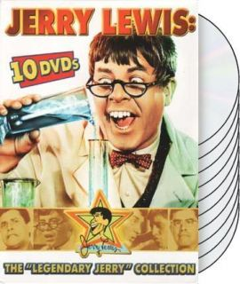 New 10 Disc DVD Box Set The Legendary Jerry Lewis Collection RARE
