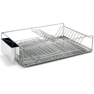 Ikea kitchen dish drainer drying rack silverware dry new for Kitchen drying rack ikea