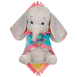 Disney World Dumbo Babies Baby Blanket Plush Doll New
