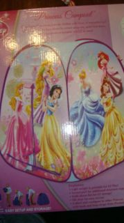 Disney Princess Play Tent Indoors Cinderella Bell Snow White and More