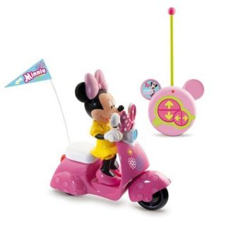 NEW OFFICIAL DISNEY MINNIE MOUSE BOW TIQUE REMOTE CONTROL SCOOTER