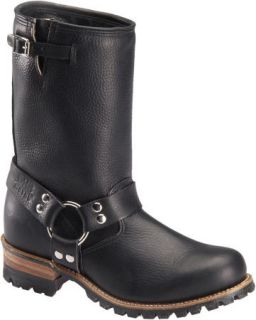 Double H Mens DH6109 10 Engineer Boot Black 8EE New Made in USA