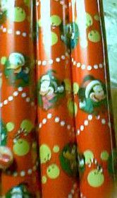 DISNEY MICKEY MOUSE CHRISTMAS WRAPPING PAPER #3 MINNIE DONALD DUCK