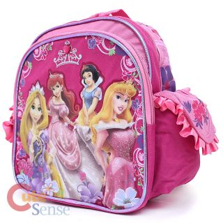 Disney Princess with Tangeld School 10 Toddler Backpack with Stone