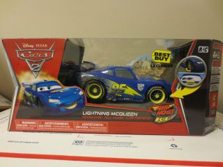 Disney Cars Remote Control Car RC Best Buy Exclusive New Mint RARE