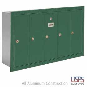 Door Apartment Style Mailbox Locking Wall Mail Box
