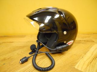 Bell Helmet with Genuine Harley Davidson Helmet Headset   Small