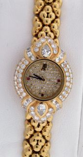 Classique New 18K Yellow Gold Diamond and Ruby $98 300 00 Watch
