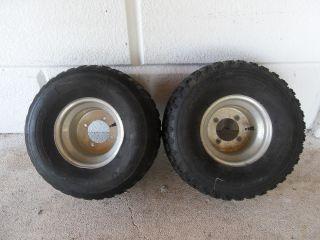 Douglas Rear Rims w Tires Yamaha Banshee YFZ 350 YFZ350 YFZ450