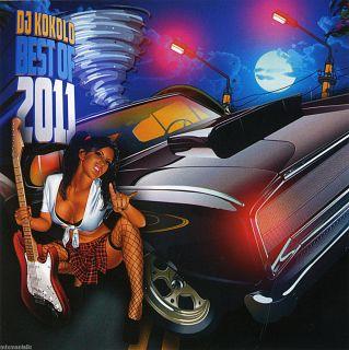 DJ Kokolo Best of 2011 Non Stop Party Pop Dance Club Mix Top 40 CD