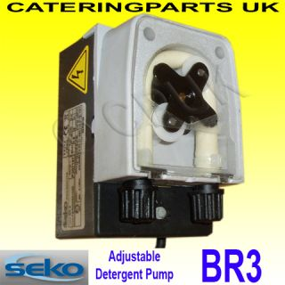 Seko BR3 Adjustable Peristaltic Detergent Dosing Pump
