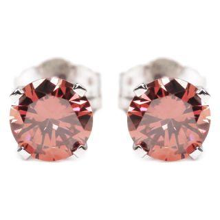 builder deals 0 16 ct 925 sterling silver pink diamond stud earrings