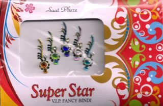 Fashion Jewelry Saree Accessories Indian Casual Bindi