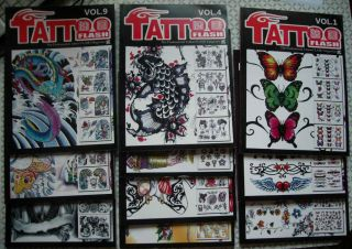 the professional tattoo flash magazine b sketch book a set of 10