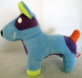 Really cute pre loved blue dog from Douglas Cuddle Toys. Stands 8
