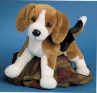 BERNIE Douglas Cuddle Toys 11 plush BEAGLE stuffed animal DOG