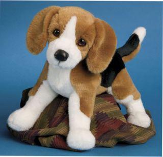 BERNIE Douglas Cuddle Toys 11 plush BEAGLE stuffed animal DOG