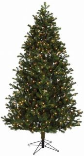 This douglas fir pre lit Christmas tree makes a perfect addition to