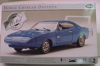 TESTORS 69 DODGE DAYTONA CHARGER 1 43 DIE CAST METAL BODY MIB