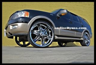 and Tires Pkg for for Chevy Ford Dodge RAM Rim Tahoe F150