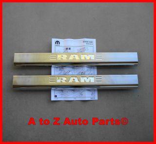 2009 2012 Dodge RAM, Express 2 DR Door Sill Protectors,Door Sills,OEM