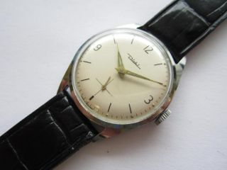 Diehl Cal 157 Germany Sub Seconds Wrist Watch 1960S