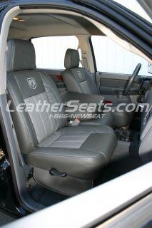 2006 08 Dodge RAM Quad Mega Cab Leather Seat Covers