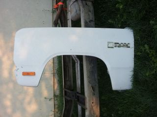 81 Dodge Power RAM Driver Side Fender Very Nice Piece Lots More Parts