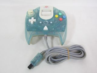 Dreamcast Sega Hello Kitty Blue Console System Boxed HKT 3000 Import