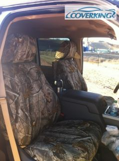 Dodge RAM 1500 Coverking Neoprene Realtree Camo Custom Fit Seat Covers