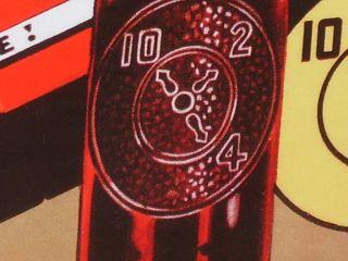 Dr Pepper Drink A Bite to Eat Shows Old Bottle 10 2 4 Clock Metal Sign