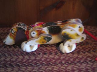 Antique Fisher Price Snoopy Dog Pull Toy