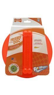 Large Nylabone Floatable Frisbee Water Dog Toy