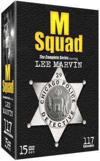 Squad Complete Series New 15 DVD 117 Shows Lee Marvin