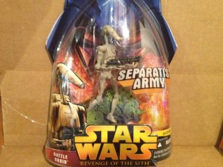 Star Wars Revenge of The Sith Action Figure Battle Droid