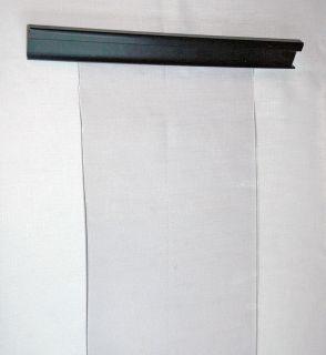 Doggy Door Clear Plastic Door Strip 8 Wide 9 Feet Long Freezer Door
