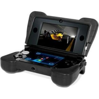 DreamGEAR DG3DS4216 Comfort Grip Case for Nintendo 3DS Black