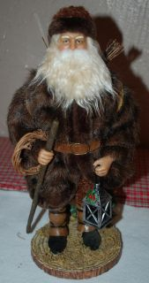 Possible Dreams Clothtique Father Christmas Woodland Rustic Santa Kris