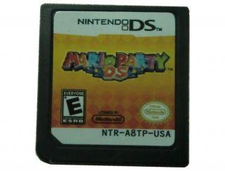 3DS Mario Party DS Game Nintendo DS DSI DSL NDL NDSi DSIXL DSiLL XL